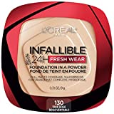 L'Oreal Paris Infallible Fresh Wear Foundation in a Powder, Up to...