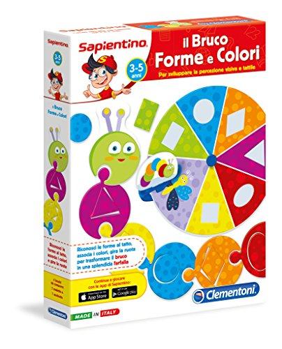 Clementoni 13297 - Bruco Forme E Colori