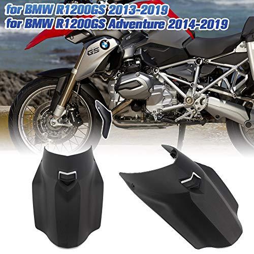 AHOLAA Motocicletta Estensione parafango anteriore Estensione parafango Paraspruzzi Abbracciatore di pneumatici per BMW R1200GS ADV R 1200 GS Adventure 2013-2019