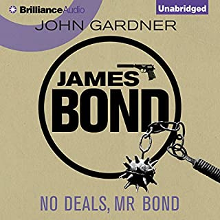No Deals, Mr. Bond audiobook cover art