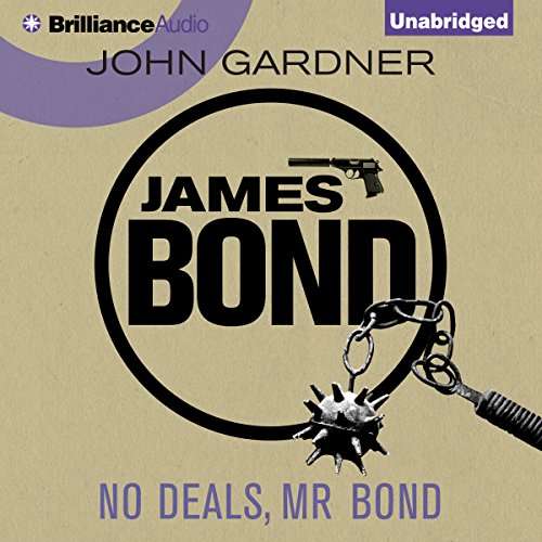 No Deals, Mr. Bond cover art