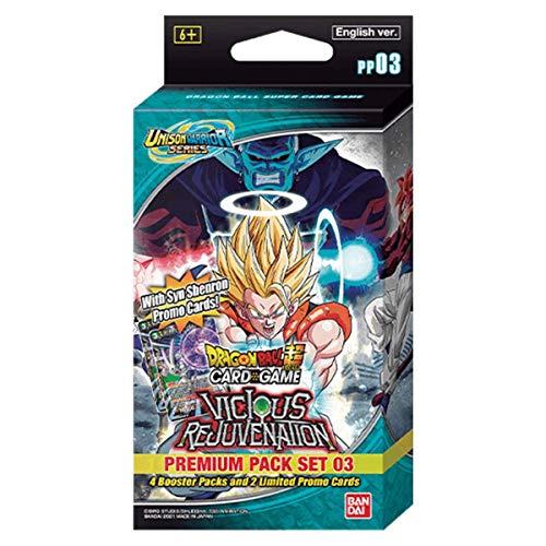 Bandai - Dragon Ball Super CG: Unison Warrior Premium Pack Set 03 - Card Game