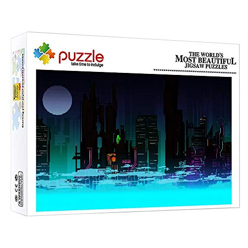 ZTCLXJ Puzzle 1000 Piezas Ciudad 1000 Piezas Color Surtido Puzzles para Infantiles Adolescentes Educativo para Niños para Regalo De Acción De Gracias De Navidad 30 X 20 Pulgada
