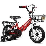 Bicicleta enérgica for Niños Infantil Plegable for Niños Pequeños for Niños O Niñas De 2 A 10 Años 12 Pulgadas 14 Pulgadas 16 Pulgadas 18 Pulgadas 20 Pulgadas Rojo Azul