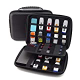KING OF FLASH Large Electronics Case, Portable Electronics