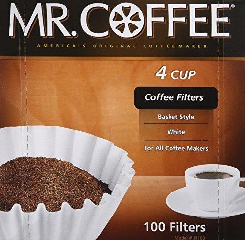 Rockline Industries Kaffeefilter, für 4 Tassen, 100 Stück