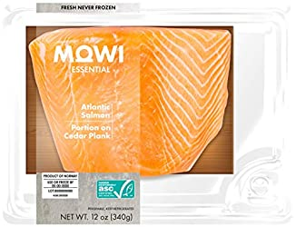 MOWI Essential Fresh Atlantic Salmon Portion On Cedar Plank 12oz