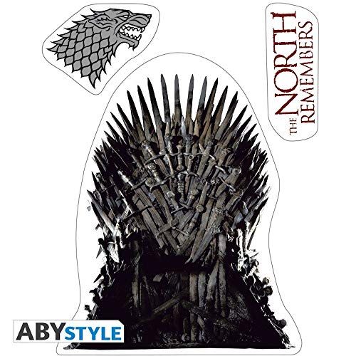 Game of Thrones - The North Remembers - Pegatina Merchandise Oficial HBO