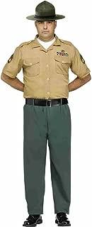 Men's Marine Drill Instructor Adult Costume, Multi, Standard