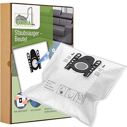 Etana 15 Stück Staubsauger-Beutel kompatibel mit Bosch BSG 6000.6999 Logo