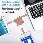 YOHU-256GB-Chiavetta-USB-per-Phone-Memoria-USB-Esterna-Photo-Stick-Flash-Drive-PenDrive-per-Dispositivi-con-AndroidUSB-CMicro-USBTipo-C-Porta-Rosa