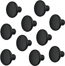 Gedotec Meubelknop houten ladeknop zwart voor kastdeuren & meubels - FRANK   kastknop keuken met Ø 32 mm   deurknop essenh...