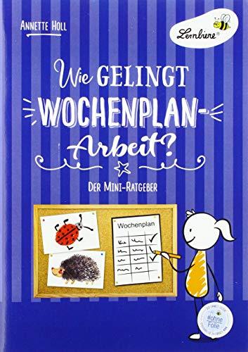 Wie gelingt Wochenplan-Arbeit? (PR): Grundschule, Organisation & Ratgeber