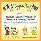 CD de canciones para bebés en francés | Canciones infantiles traducidas al francés y al inglés| CD ganador de un premio'BilinguaSing Baby Loves French Vol.2' | Aprende francés. Para 0 a 5 años