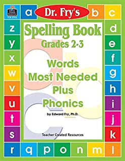 Spelling Book, Level 2-3 by Dr. Fry