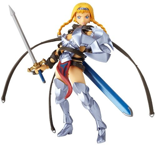 Figurine - Revoltech - Queen's Blade - 001 Leina