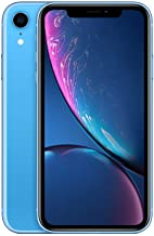 Apple iPhone XR (256GB, Blue) [Carrier Locked] + Carrier Subscription [Cricket Wireless]