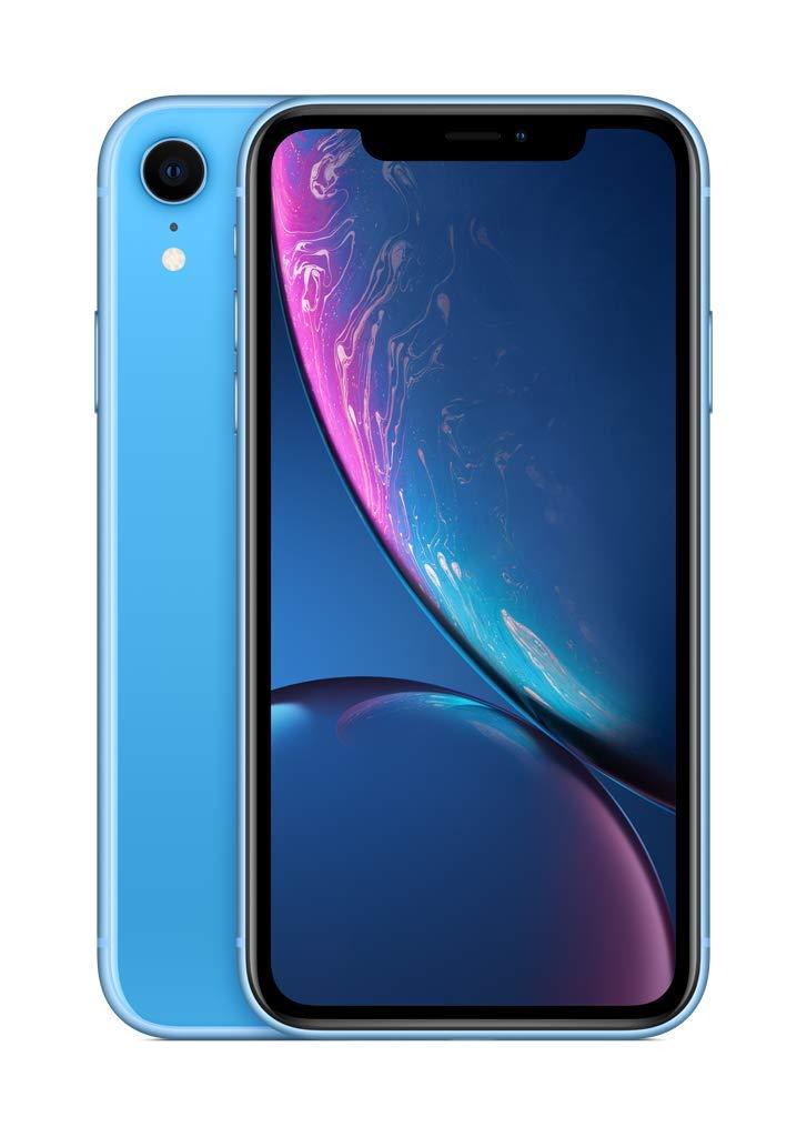 Amazon Com Apple Iphone Xr 64gb Blue Locked Carrier Subscription