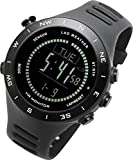 Lad Weather Altimeter Barometer Compass Watch + Heart Rate Monitor...