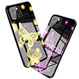 WENSUNNIE 3D Butterfly Variant Diagram Phone Case Compatible with iPhone 12 Pro Max 6.7 Inch for Men Women - Soft Slim TPU Bumper Full Body Protection Shockproof Drop Protection Case