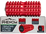 Monument Phenom 3 Speed Vibrating Foam Roller - Myofascial Recovery | Release Tension, Stiff Sore Muscles; Enhance...