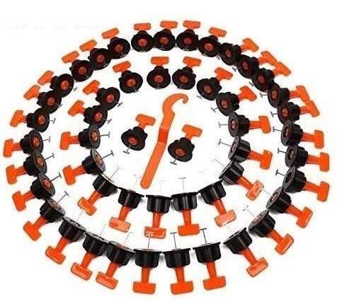 Topway Fliesennivelliersystem 100 Stück (wiederverwendbar)