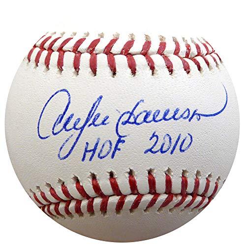 "Andre Dawson Autographed Official MLB Baseball Cubs, Expos""HOF 2010"" Beckett BAS Stock #135922"