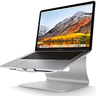 Laptop Stand - Bestand Aluminum Cooling MacBook Stand: [Update Version] Stand, Holder for Apple MacBook Air, MacBook Pro, All Notebooks, Sliver (Patented)