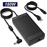 180W Asus Rog Charger,19.5V 9.23A 180W Asus Laptop Charger for Asus ROG G750JM G750JS G750JW G750JX G751JL G751JM G752VL G752VT G55 G55VW G46VW G70 G75 G75VW G75VX A53 A53S, ADP-180MB F, FA180PM111