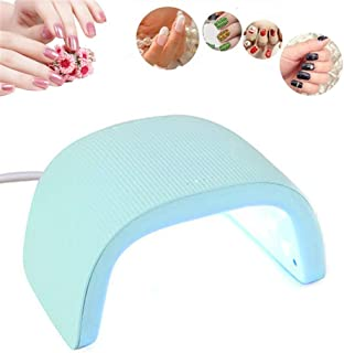UV LED Nail Lamp, 48W Fast Nail Dryer for Gel Polish, Professional Gel Lamp Machine Automatic Sensor With3 Timer Settings 30/60/90S,Green