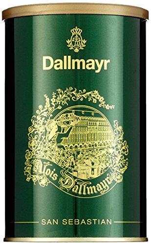 Dallmayr Kaffee Schmuckdose San Sebastian grün, 250g (1 x 0,25 kg)
