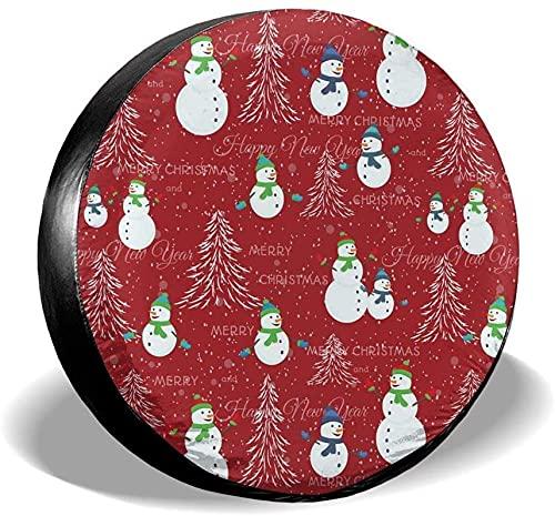 Cubierta de neumático de repuesto para árbol de Navidad,poliéster,universal,de 15 pulgadas,para ruedas de repuesto,para remolques,vehículos recreativos,SUV,ruedas de camiones,camiones,caravanas,acces