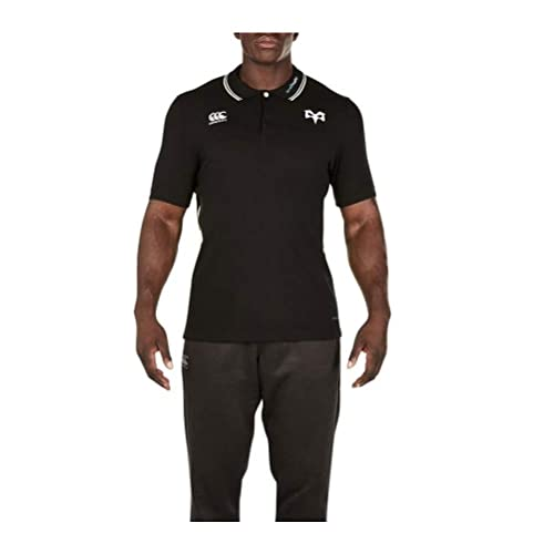 c207c70ba72 Canterbury Ospreys 2017/18 Vapodri Cotton Pique Rugby Polo Shirt - Tap Shoe