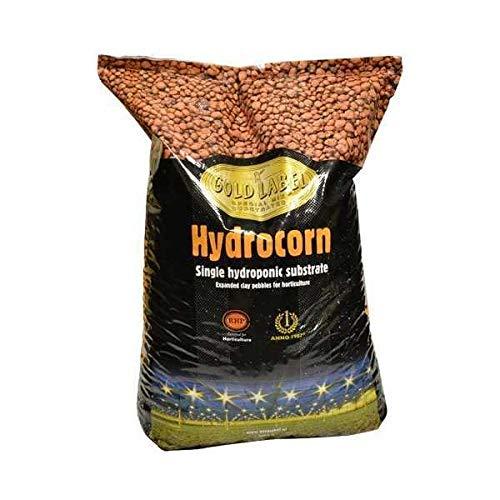 Gold Label Hydrocorn – Argile expansée pour système hydroponique, 45 L
