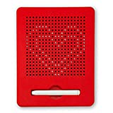 Kangkang Portable Magnetic Ball Sketch Pad Tablet Drawing Board with Magnetic Stylus (Red)