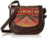 Pendleton Women's Saddle Bag, Sierra Ridge-Tan, One Size