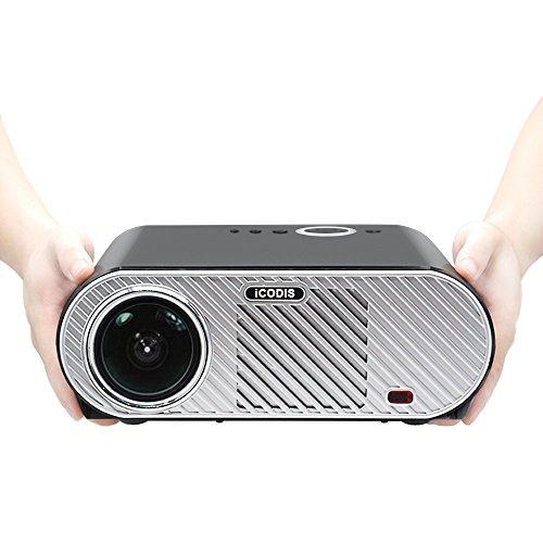 iCODIS G6 Beamer, 3200 Lumen LED, HD Native Bildschirmauflösung,3000:1 Kontrastverhältnis.
