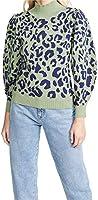 525 Women's Leopard Mock Neck Pullover