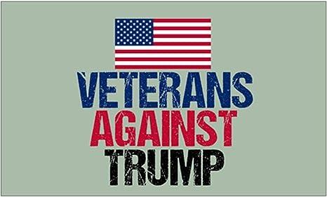 Veterans Against Trump Vinyl Decal Wall Laptop Bumper Sticker 5