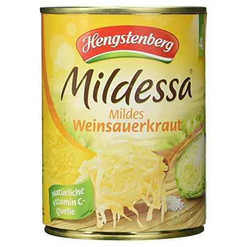 Hengstenberg Mildessa mildes Weinsauerkraut, 520g