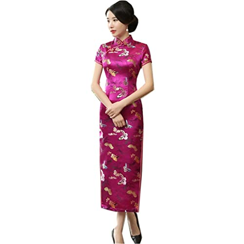 Shanghai Story Chinese Traditional Clothing Long Cheongsam China Qipao Dress 37358b90535d