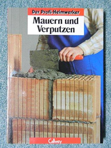 Mauern und Verputzen (Der Profi-Heimwerker)