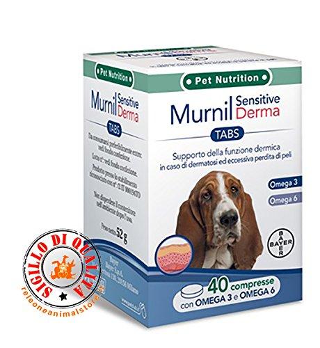 Bayer Supporto della Funzione dermica Murnil Sensitive Derma 40 compresse
