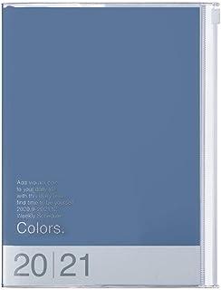 MARK'S 2020/2021 Taschenkalender A5 vertikal, COLORS Blue.