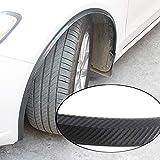 Llavero para guardabarros de coche de 117 cm con rueda de arco para cejas, guardabarros automático, guardabarros para llantas y llantas(1Pcs)