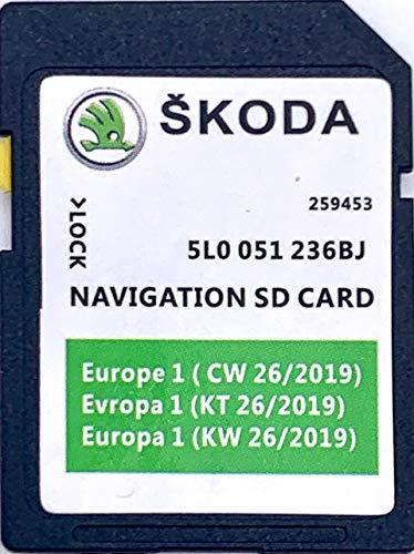 Skoda MIB2 Amundsen SD-Karte Navi Update 2020
