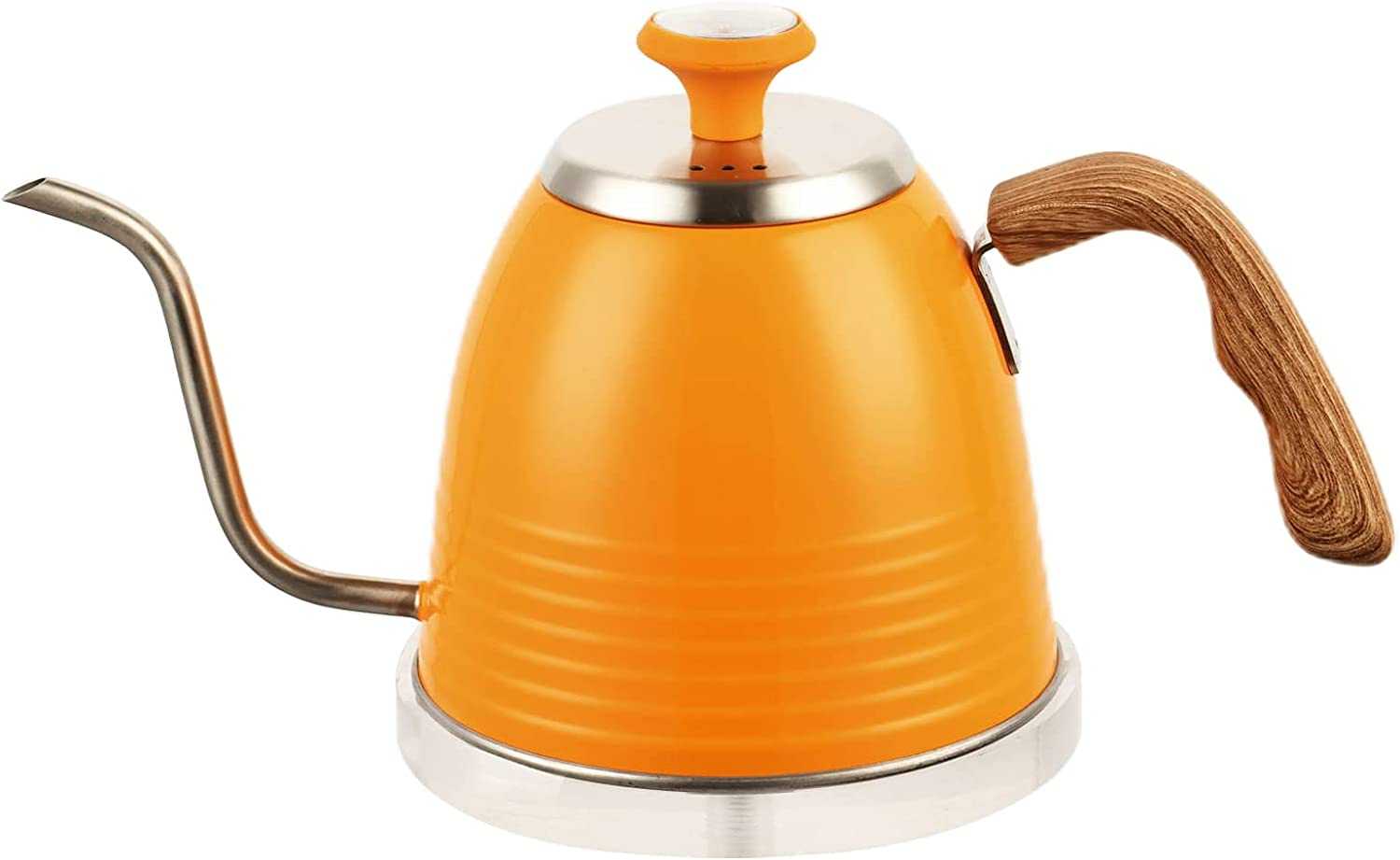 Gooseneck Kettle - Stainless Steel Tea Pour Max 57% OFF Max 69% OFF Over Coffee