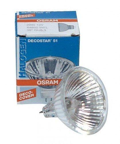 10 x Osram 35W 12V M223 Decostar 35 36 Grad Abstrahlwinkel MR11 (GU4 Fassung) dichorische Halogen-Reflektorlampe