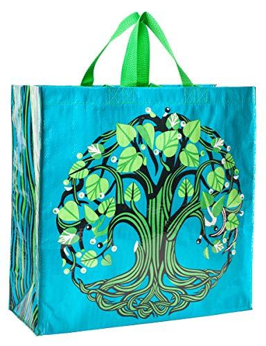Blau Q Taschen, Shopper Baum des Lebens One Size (Hardcode) bunt