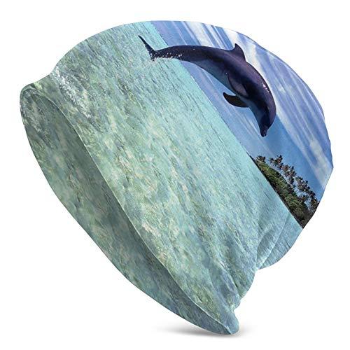 イルカ ダイビング 帽子 保温 通気抜群 薄手 室内室外帽 シンプル オシャレ 柔らかい メンズ レディース 通...
